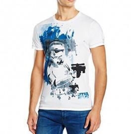Star Wars Trooper Homme Tee-shirt Blanc