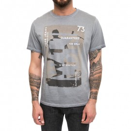 Baswood Homme Tee-shirt Gris