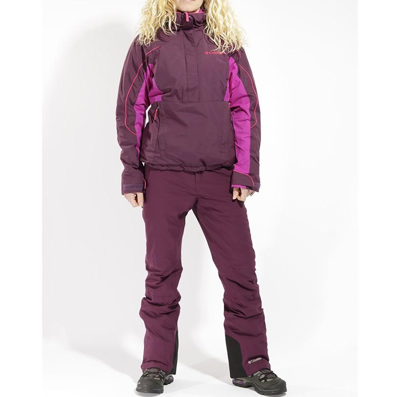 Veste de Ski Anter Falls II 12 zip Noir Femme Columbia