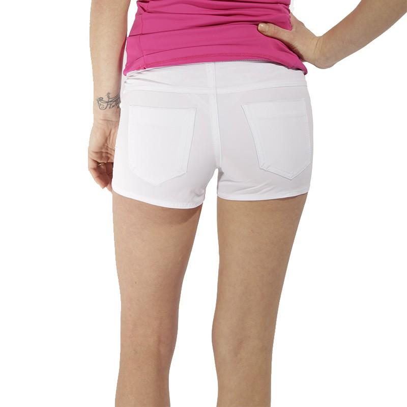 short de bain vegas blanc femme waxx maillots de bain. Black Bedroom Furniture Sets. Home Design Ideas