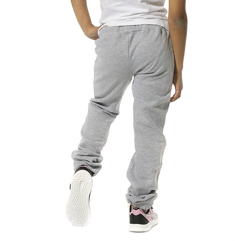 Pantalon Fille Gris