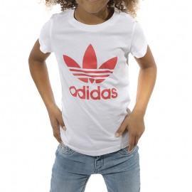 Trefoil Fille Tee-shirt Blanc