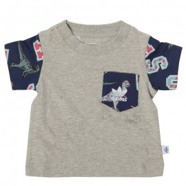 Tee-shirt  Bébé Garçon Gris