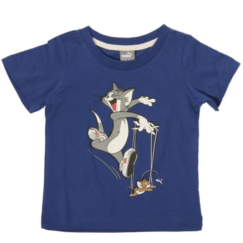 Tom&Jerry Garçon Tee-shirt Bleu