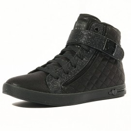 Shoutouts Quilted Fille Chaussures Noir