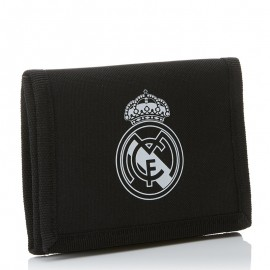Real Madrid Portefeuille Football Noir