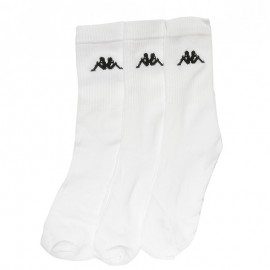 Chimido  Garçon/Homme Pack 3X Chaussettes Blanc