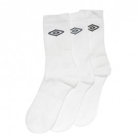 Chaussettes Homme Pack 3X Blanc