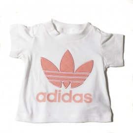 Trefoil Bébé Fille Tee-shirt  Blanc