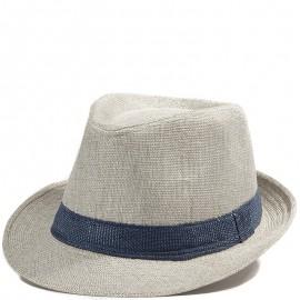 Trilby Femme Chapeau Ajustable Gris