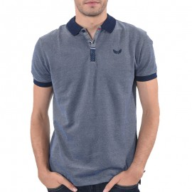 Pearl Homme Polo Marine