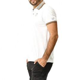 Tanipolo Homme Polo Blanc