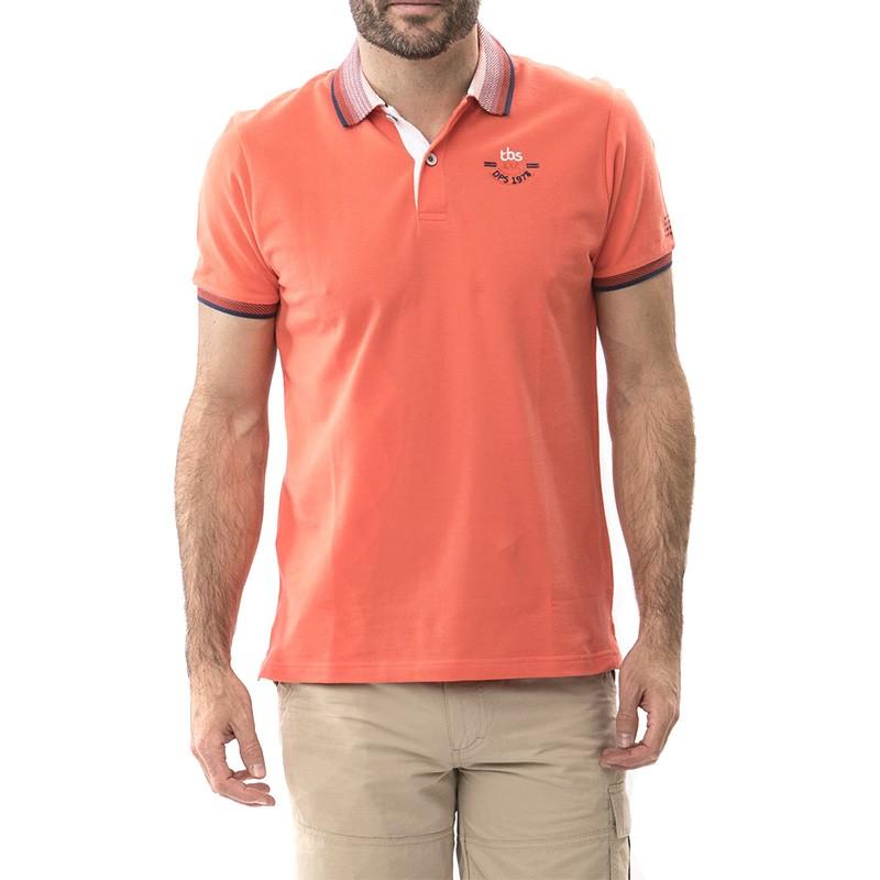 Tanipolo Homme Polo Orange