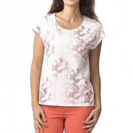 Lepdesan Femme Tee-shirt Blanc