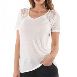 Sarah Femme Tee-shirt Ecru