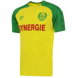 FC Nantes Homme Maillot Football Jaune