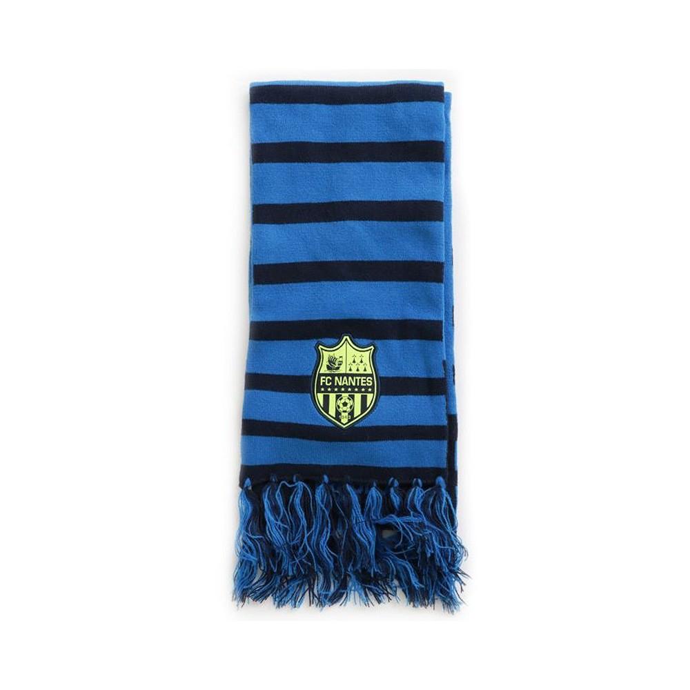 Fc Nantes Homme Echarpe Football Bleu Bleu