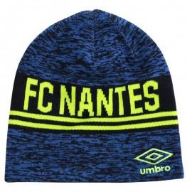 Fc Nantes Homme Bonnet Football Bleu