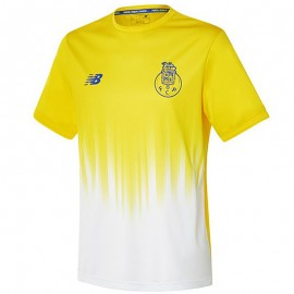 FC Porto Homme Maillot Football Jaune
