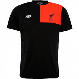 FC Liverpool Homme Maillot Football Noir