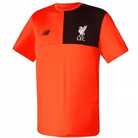 FC Liverpool Homme Maillot Football Orange fluo