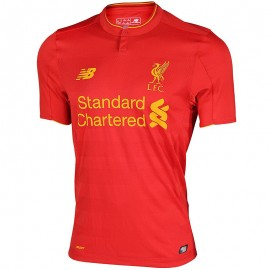 FC Liverpool Homme Maillot Football Rouge