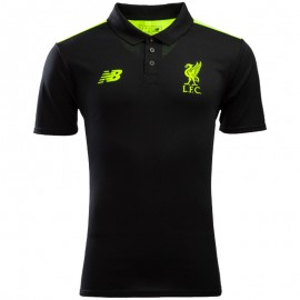 FC Liverpool Homme Polo Football Noir
