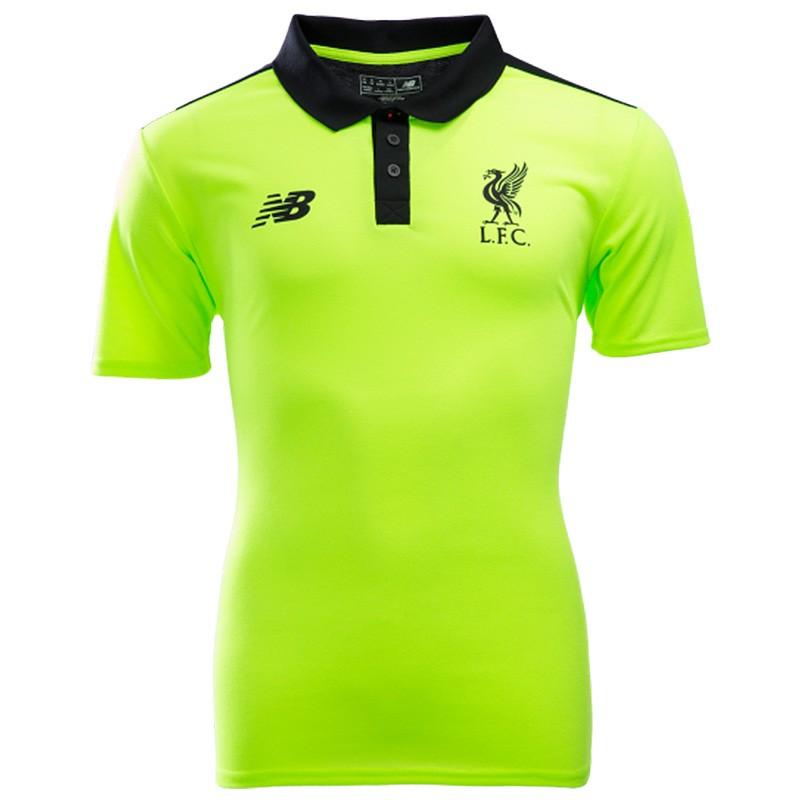 Fc Polo Jaune Football Homme Fluo Liverpool xvUv8OwqH