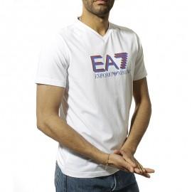 Armani Homme Tee Shirt Blanc