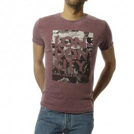 Momus Homme Tee Shirt Bordeaux