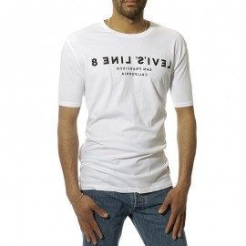 L8 Either Homme Tee Shirt Blanc