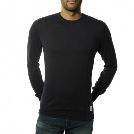 Yul Solid Homme Pull Marine