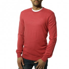 Yul Solid Homme Pull Rouge