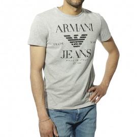 Armani Jeans Homme Tee Shirt Gris