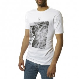 Graphic Set-In Homme Tee shirt Blanc