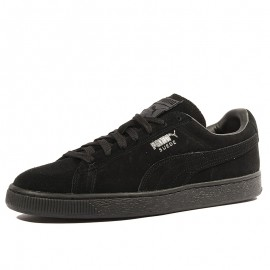 Suede Classic + Homme Chaussures Noir