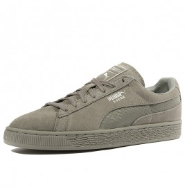 Suede Classic Mono Reptile Homme Chaussures Gris
