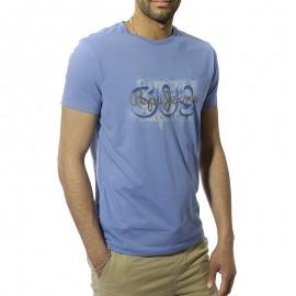 Alnus Homme Tee-Shirt Bleu