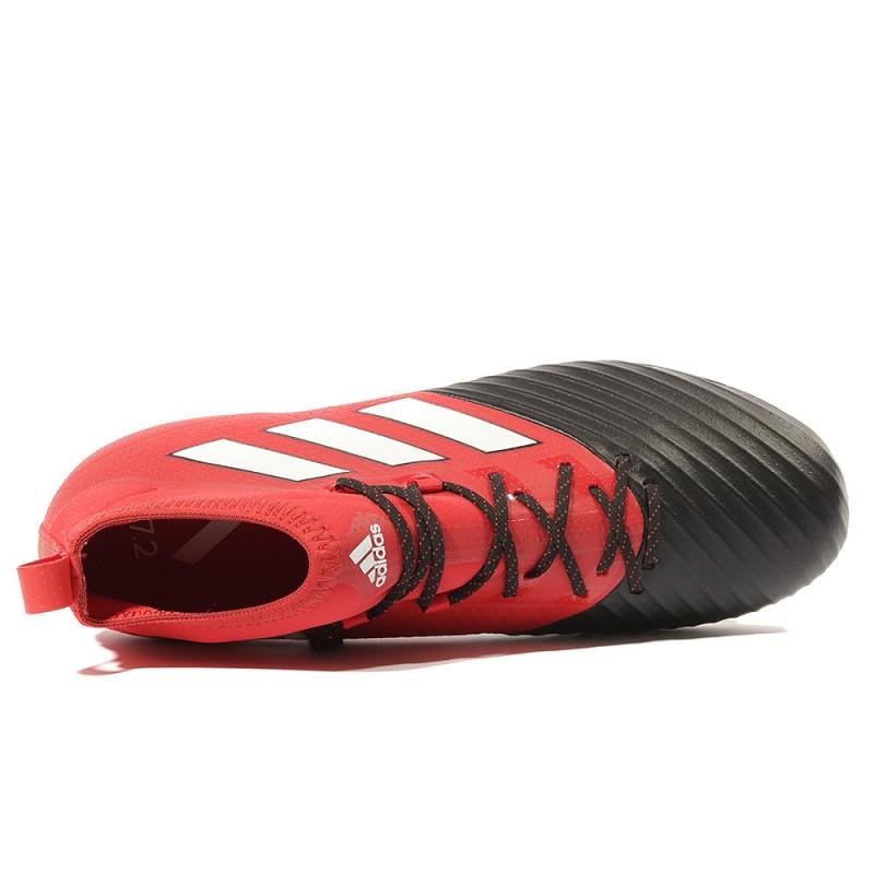 Fg Football Primemesh Homme Noir Chaussures Ace 17 2 Rouge RcjL35A4qS