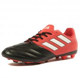 Ace 17.4 FxG Garçon Chaussures Football Noir Rouge