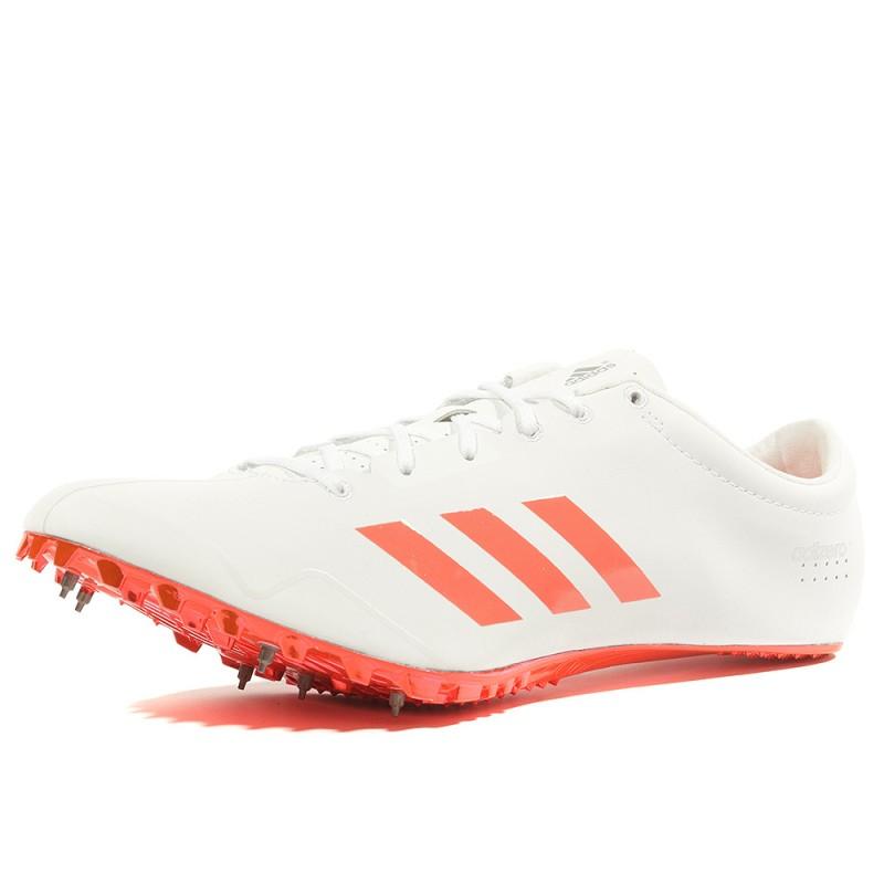 doux et léger dernière mode Conception innovante Adizéro Prime Sprint Homme Chaussures Athlétisme Blanc