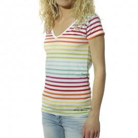 Alexina Femme Tee-Shirt Multicolore