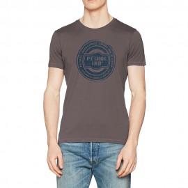R-Neck Homme Tee-Shirt Gris