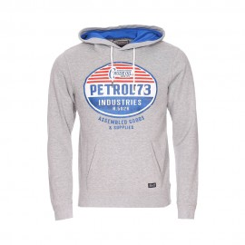 Hooded Homme Sweat Gris