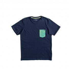 Eqbz Enfant Garçon Tee-Shirt Marine
