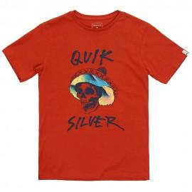 Eqbz Enfant Garçon Tee-Shirt Rouge