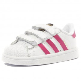 Superstar Fille Chaussures Blanc