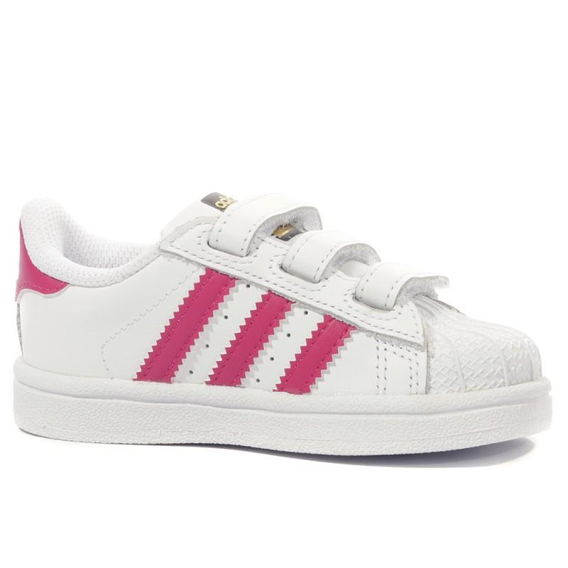 détaillant en ligne 29e5f 4798b Superstar Fille Chaussures Blanc