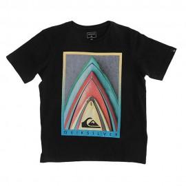 Eqbz Enfant Fille Tee-Shirt Noir