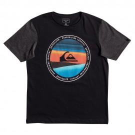 Eqbz Enfant Garçon Tee-Shirt Noir